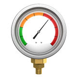 Manometer 3d isolated Stock Images