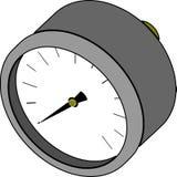 Manometer - drukmeting Royalty-vrije Stock Fotografie