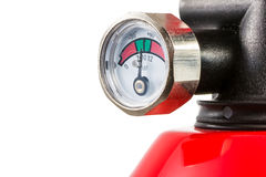 Manometer of a Fire Extinguisher Royalty Free Stock Photography