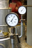 Manometer pressure Stock Images