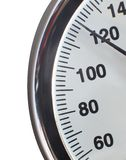 Manometer scale Stock Photography