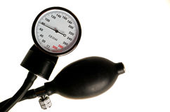 Manometer from the tonometer Royalty Free Stock Photo