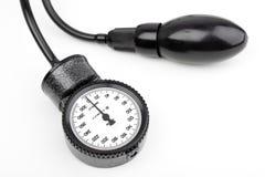 Manometer voor geïsoleerdeb bloeddruk Royalty-vrije Stock Foto's