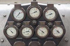 manometers Stock Foto