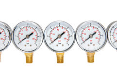 Manometers for pressure Royalty Free Stock Images
