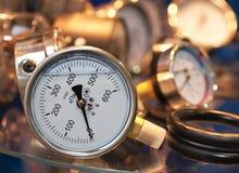 Manometric Thermometer. Stock Photo