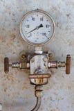 Manometro per pressione di misurazione Immagini Stock