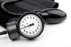 Manometro per pressione sanguigna isolata Fotografie Stock