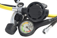 manometru regulator fotografia stock