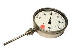 manometryczny termometr Zdjęcia Royalty Free