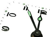 Manopola di orologio fotografia stock