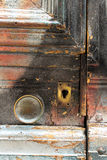 Manopola di porta Fotografie Stock