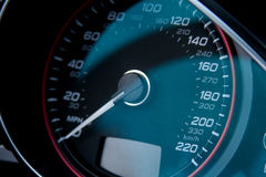 Manopola di velocità Immagine Stock