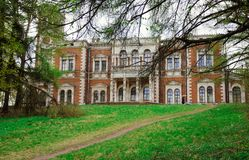 Manor in Bykovo, abandoned manor royalty free stock photography