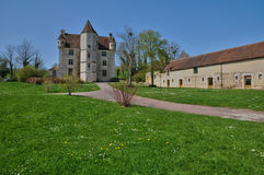 Manor of Courboyer in Basse Normandie Stock Photography