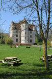 Manor of Courboyer in Basse Normandie Stock Image