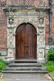 Manor Door del rey Imagen de archivo libre de regalías