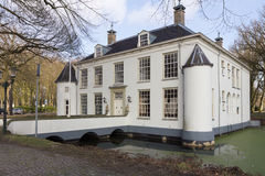 Manor in een plaats in Nederland Royalty-vrije Stock Afbeelding