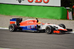Manor F1 Team Marussia MR03 driven by Roberto Merhi at Monza Royalty Free Stock Images