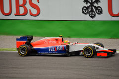 Manor F1 Team Marussia MR03 driven by Roberto Merhi at Monza Stock Image