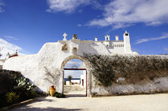 Manor Farm. Entrance of a typical manor farm in southern Italy, Apulia Stock Image