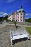 Manor hause Becov nad Teplou Royalty Free Stock Image