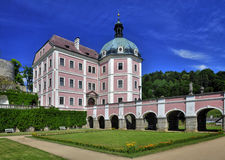 Manor hause Becov nad Teplou royalty free stock photography