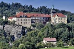 Manor hause Hruba Skala Stock Image