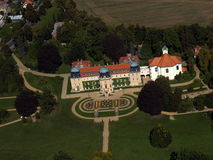 Manor hause Lany. Summer residence of the President of the Czech Republic Royalty Free Stock Photography