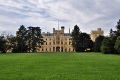 Manor hause Lednice Stock Foto's
