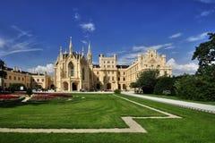 Manor hause Lednice Royalty-vrije Stock Afbeeldingen