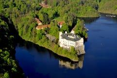 Manor hause Orlik nad Vltavou stock photography