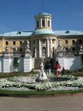 Manor House. Arkhangelskoye museum, Moscow, Russia stock photography