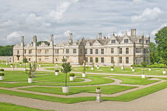 Manor House. An Elizabethan Manor House (Kirby Hall) located in Northampton, England Royalty Free Stock Image
