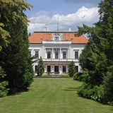 Manor-house in arboretum, Slovakia Stock Images