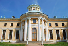 Manor house in Archangel'skoye, Moscow. Horizontal version stock images