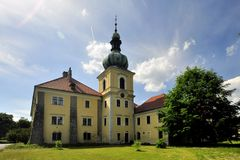 Manor house Doksy. In Czech republic Royalty Free Stock Photo