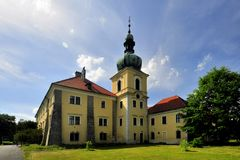 Manor house Doksy. In Czech republic Royalty Free Stock Image