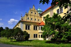 Manor house Doksy. In Czech republic Stock Image