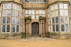 Manor house entrance. Royalty Free Stock Photos