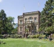 Manor house in Freiburg stock photo