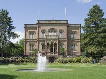 Manor house in Freiburg Stock Photography