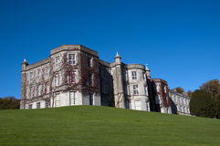 Manor house on the hill Royalty Free Stock Photos