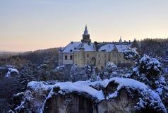 Manor house Hruba Skala Royalty Free Stock Photo