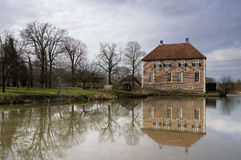 Manor house the Kamp. Near the village Neede in the Dutch region Achterhoek Royalty Free Stock Images