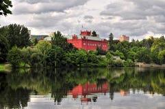 Manor house Klasterec nad Ohri royalty free stock photography