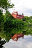 Manor house Klasterec nad Ohri stock photos