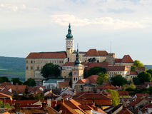 Manor house Mikulov Royalty Free Stock Images