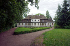 Manor house - museum in village Stock Image