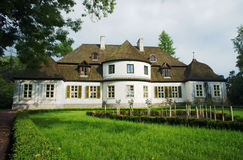 Manor house - museum in village Royalty Free Stock Image